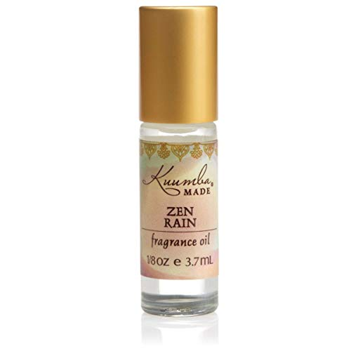 Kuumba Made, Zen Rain Fragrance Oil RollOn 3.7 ml 1Unit, 0.1258 Fl Oz