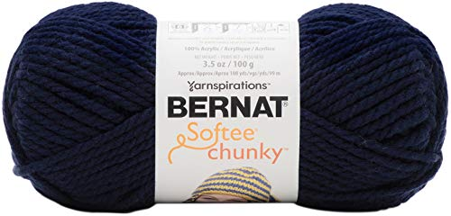 Bernat Navy Night Yarn Softee Chunky