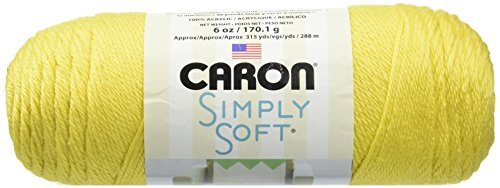 Bulk Buy: Caron Simply Soft Yarn Solids (3-Pack) Lemonade H97003-9776