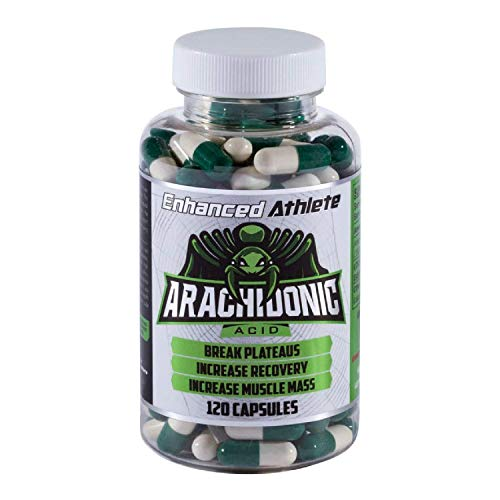 Enhanced Athlete - Arachidonic Acid Supplement - Muscle and Strength Supplement for Increased Muscle Mass & Improved Recovery for Men & Women (120 Capsules)