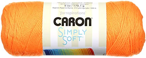 Caron Simply Soft Yarn Solids (3-Pack) Neon Orange H97003-9774