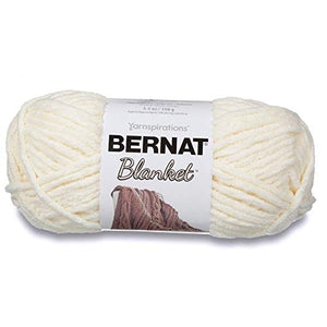 Bernat 16111010006 Blanket Yarn, 10.5 Ounce, Vintage White