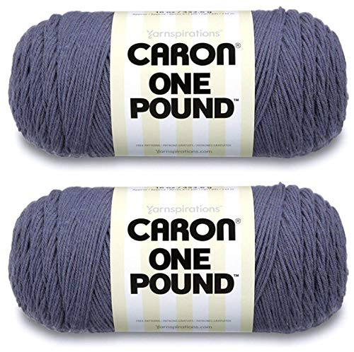 Caron One Pound Yarn - 2 Pack (Denim)