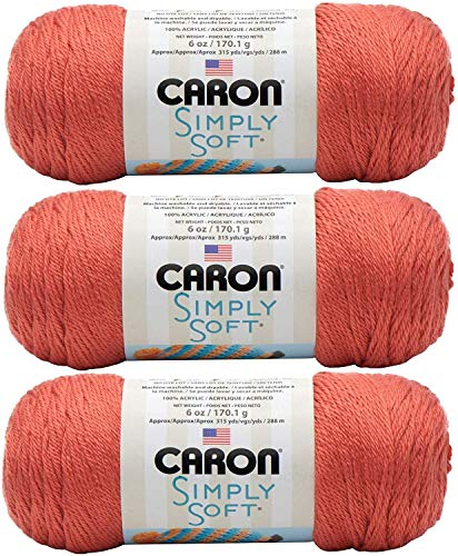Caron Simply Soft Yarn Solids (3-Pack)