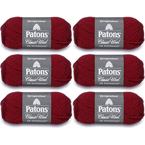 Patons 246012-12532 Classic Wool DK Superwash Yarn - Claret