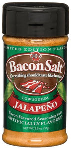 J&D's Jalapeno Bacon Salt, 2.5 Ounce Bottle