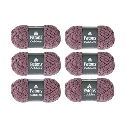 PATONS Cobbles Pack of 6, Frosted Plum