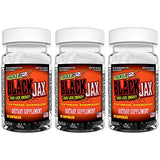 3 Pack - Blackjax 20 Capsules
