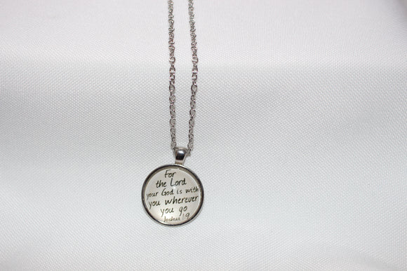 God is with you Necklace