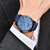 Cool Blue Men's Wrist Watch