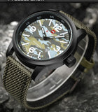 Military Swagger Wrist Watch