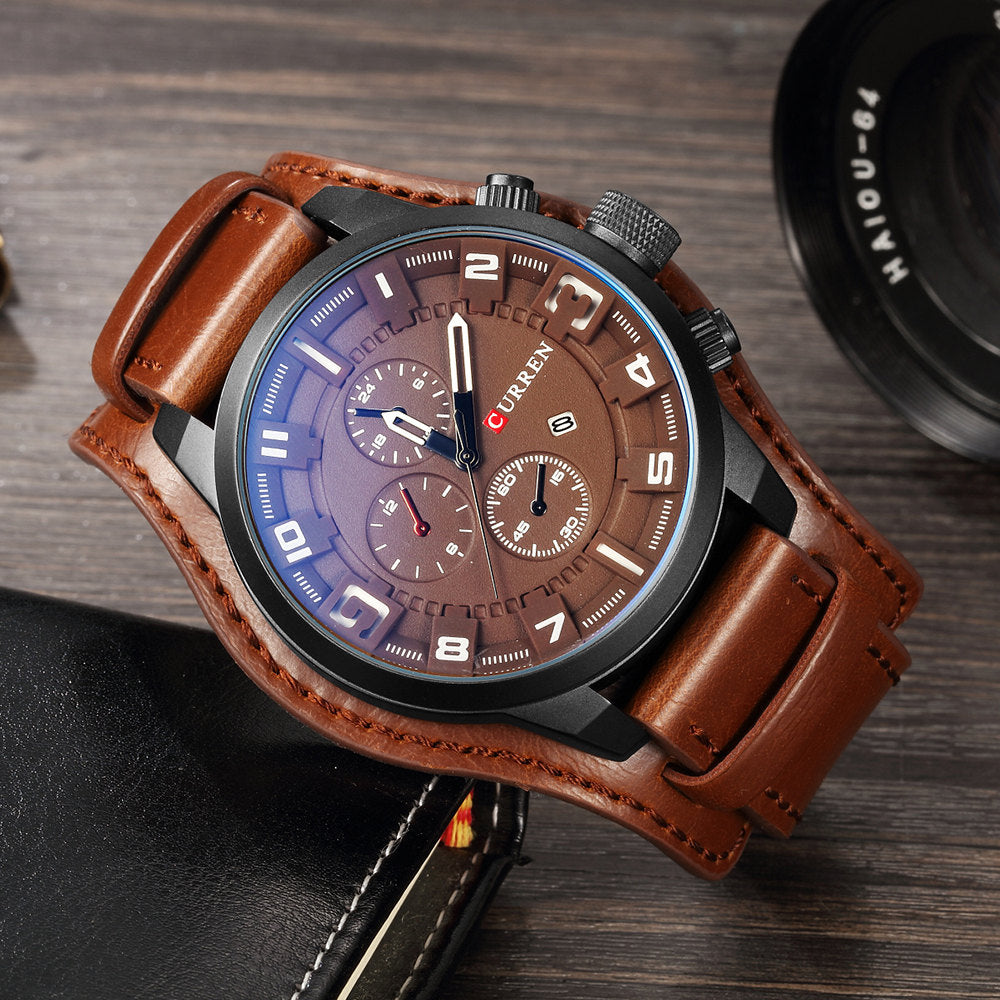Tan Legend Wrist Watch