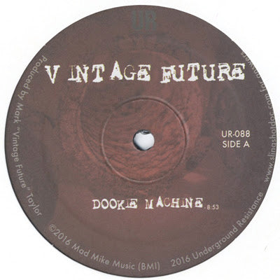 Vintage Future - Dookie Machine - Out Of Joint Records