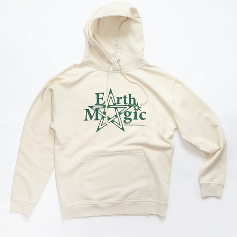 Good Morning Tapes Earth Magic Pullover Hood Natural