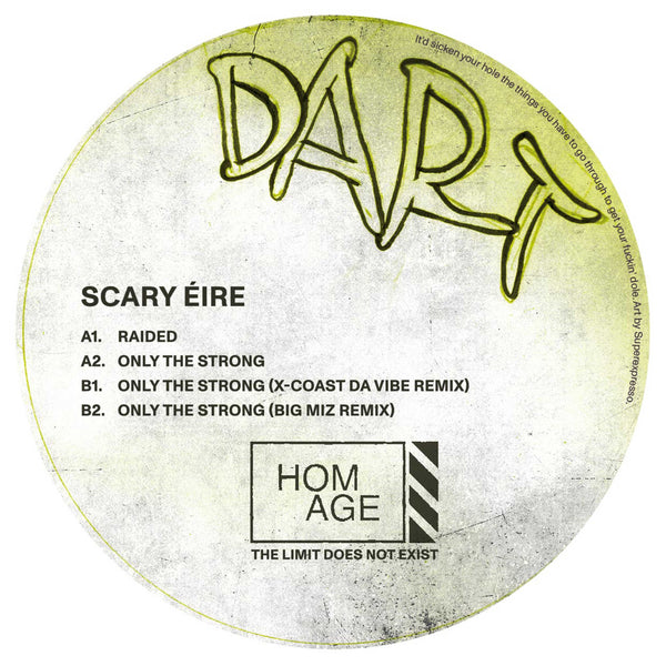 Dart - Scary Éire EP - Out Of Joint Records
