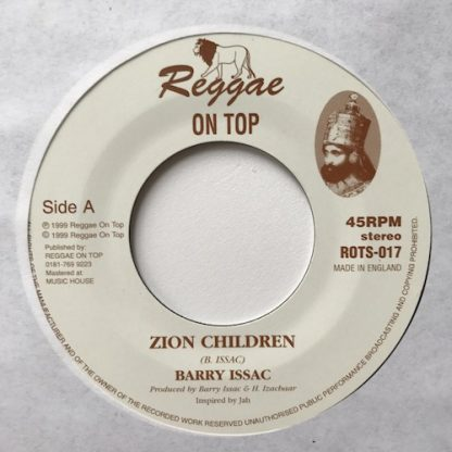 Barry Issac - Zion Children - Out Of Joint Records