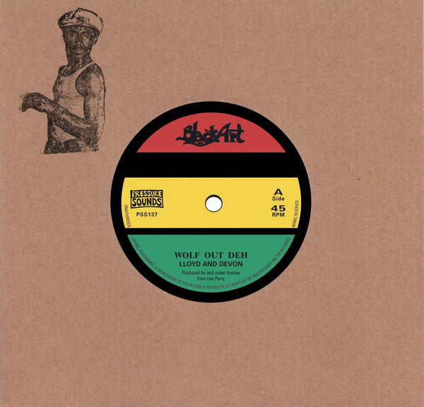 "Lloyd And Devon - Wolf Out Deh (7"" Vinyl) - Out Of Joint Records"