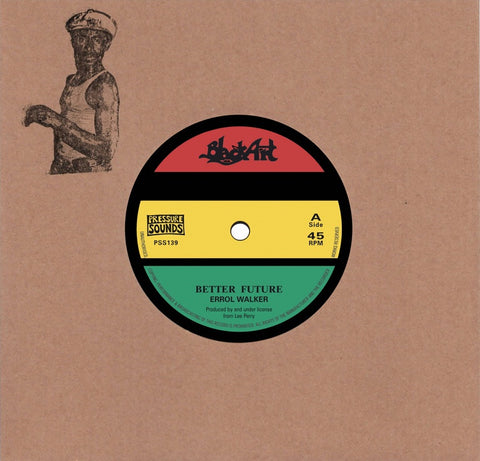 "Errol Walker - Better Future (7"" Vinyl) - Out Of Joint Records"