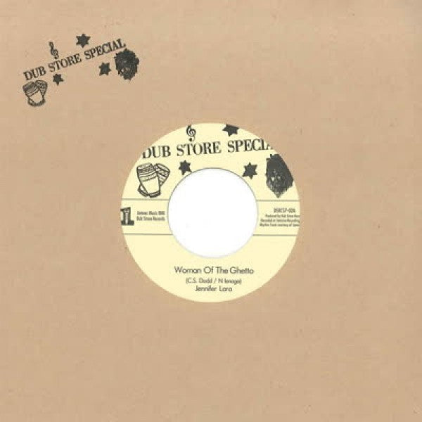 Jennifer Lara - Woman Of The Ghetto / Side Walk Doctor Version - Out Of Joint Records