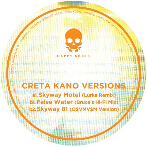 Creta Kano - Versions (Lurka//Bruce//O$VMV$M Remixes) - Out Of Joint Records