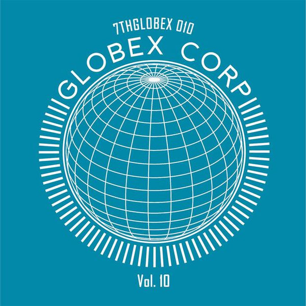 "Tim Reaper & Dwarde Present: Globex Corp Volume 10 - ""The Remixes"" (Turquoise Vinyl) - Out Of Joint Records"