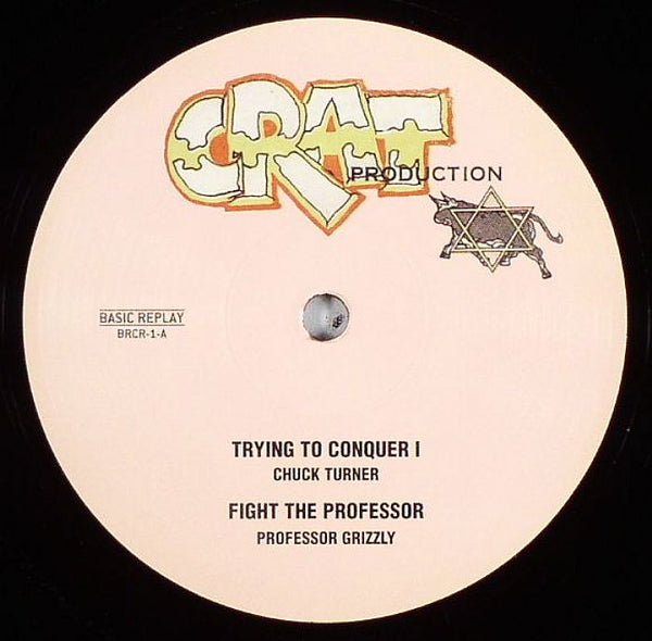 Chuck Turner / Proffesor Grizzly - Trying To Conquer I - Out Of Joint Records