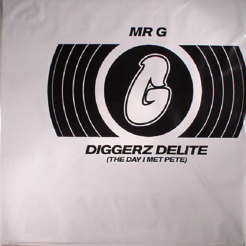 Mr G - Diggerz Delite (The Day I Met Pete) (Record Store Day 2017) - Out Of Joint Records