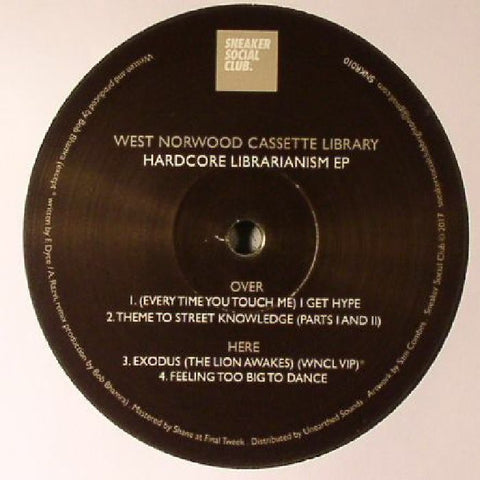 West Norwood Cassette Library - Hardcore Librarianism EP - Out Of Joint Records