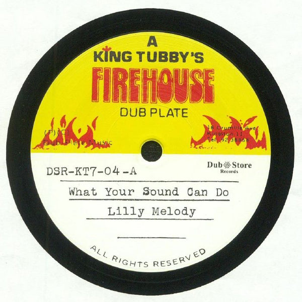 Lilly Melody / King Tubby - What Your Sound Can Do - Out Of Joint Records