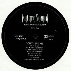 Housemaster Baldwin - Don't Lead Me - Out Of Joint Records