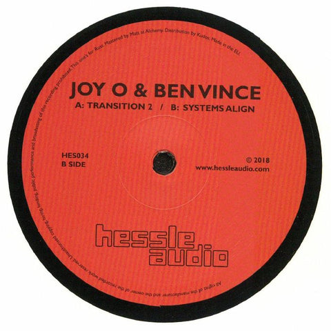 Joy O & Ben Vince - Transition 2 / System - Out Of Joint Records