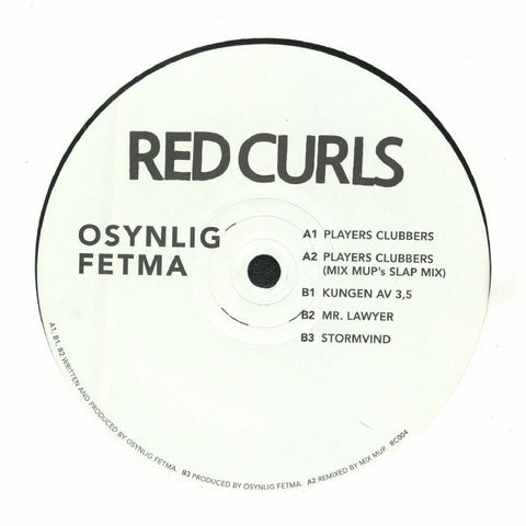 Osynlig Fetma - Players Clubbers - Out Of Joint Records