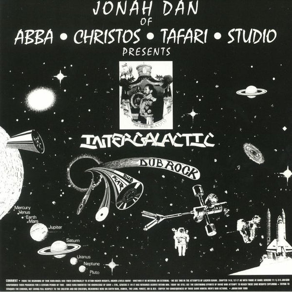 Jonah Dan - Intergalactic Dub Rock - Out Of Joint Records
