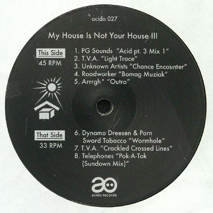 Various Artists - My House Is Not Your House III