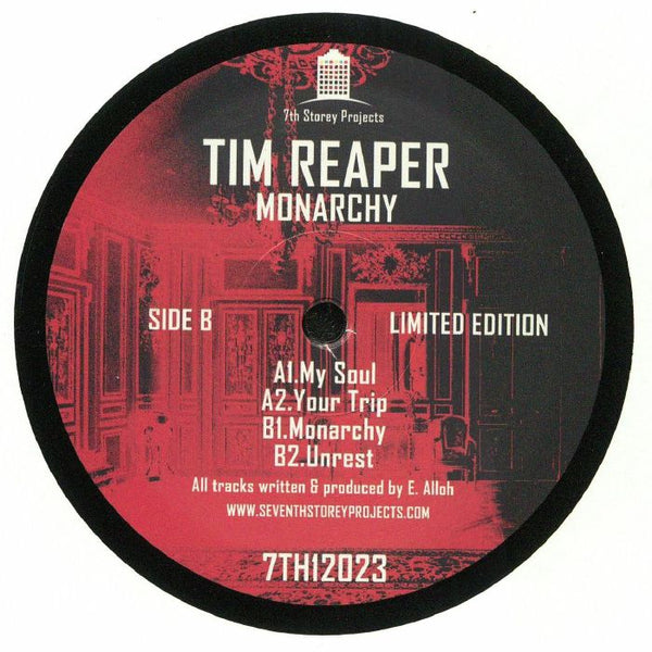 Tim Reaper - Monarchy - Out Of Joint Records