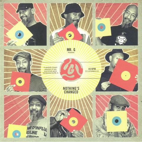 Mr G / Various - Nothing's Changed - Out Of Joint Records