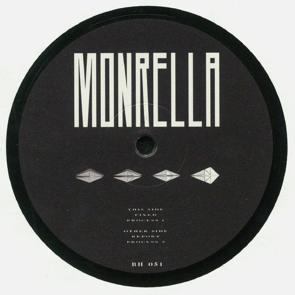 Monrella - Process & Report EP - Out Of Joint Records