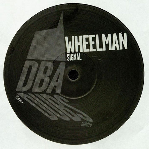 "Wheelman - Signal 10"" - Out Of Joint Records"