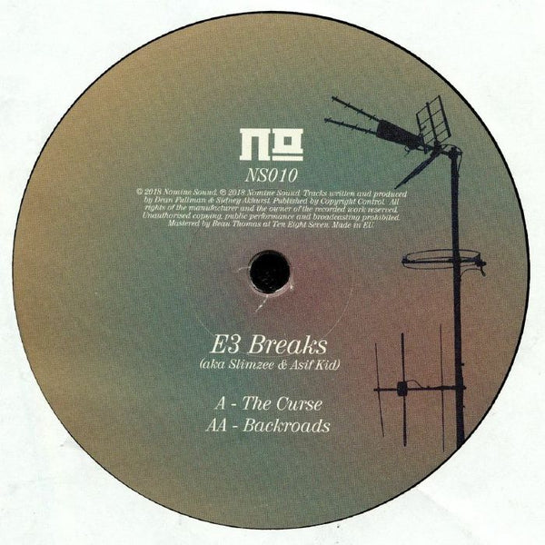 E3 Breaks - The Curse EP - Out Of Joint Records