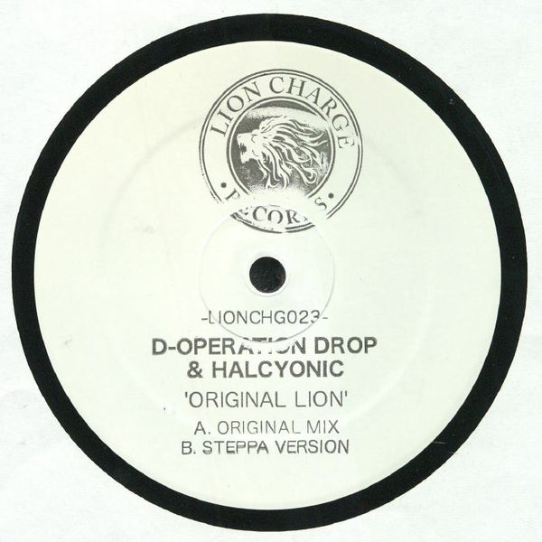 D-Operation Drop & Halcyonic - Original Lion - Out Of Joint Records