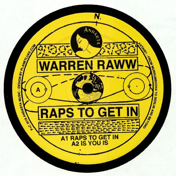 Warren Raww - Raps To Get In - Out Of Joint Records