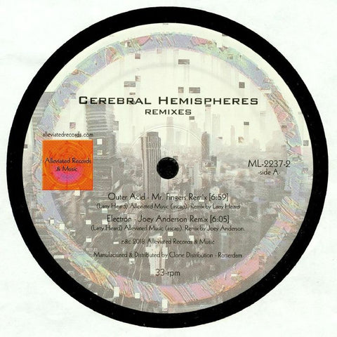 Mr. Fingers - Cerebral Hemispheres Remixes - Out Of Joint Records
