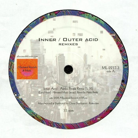 Mr. Fingers - Inner / Outer Acid (Aleksi Perala Remixes) - Out Of Joint Records