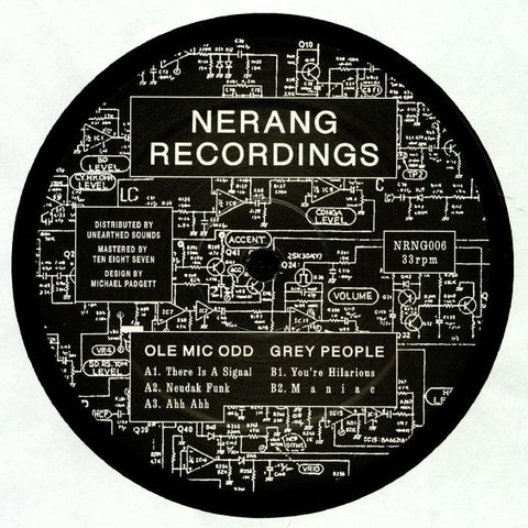 Ole Mic Odd x Grey People - NRNG006 - Out Of Joint Records
