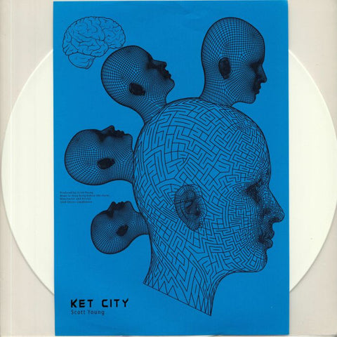 Scott Young - Ket City (White Coloured Vinyl) - Out Of Joint Records