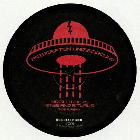 Ron Trent // Indigo Tracks - Rites & Rituals Remixed - Out Of Joint Records