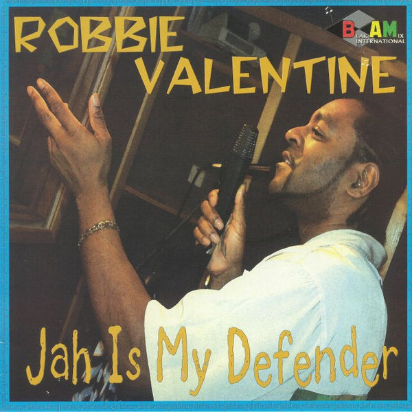 Robbie Valentine - Jah Is My Defender LP