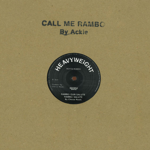 Ackie - Call Me Rambo - Out Of Joint Records
