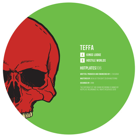 Teffa - Kings Lodge / Hostile Worlds (Pre-Order)