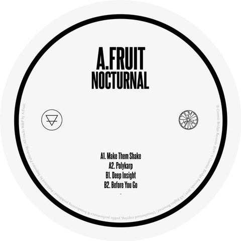 A.Fruit - Nocturnal - Out Of Joint Records
